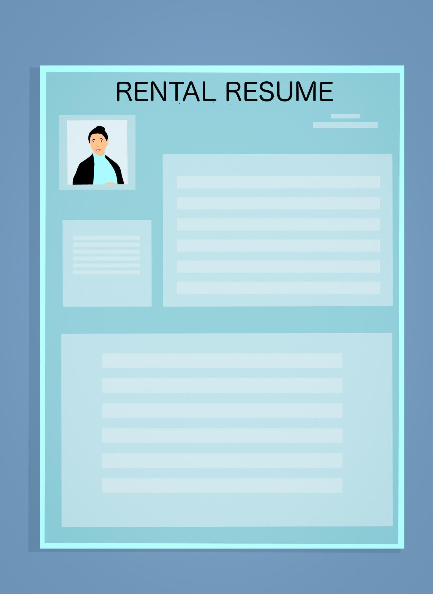 What Rental Resume Looks Like